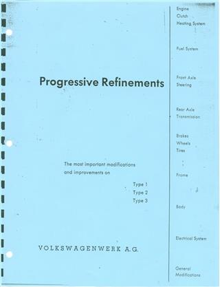 Progressive Refinements